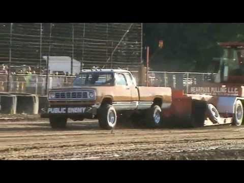 Full Pull Productions, Pro Street Gas, Trumbull County Fair, Ohio, 7/3/10