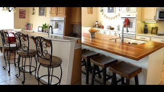 (8.97 MB) DIY KITCHEN ISLAND REMODEL WITH BUTCHER BLOCK! Mp3