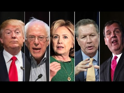 How has the presidential race changed the candidates?