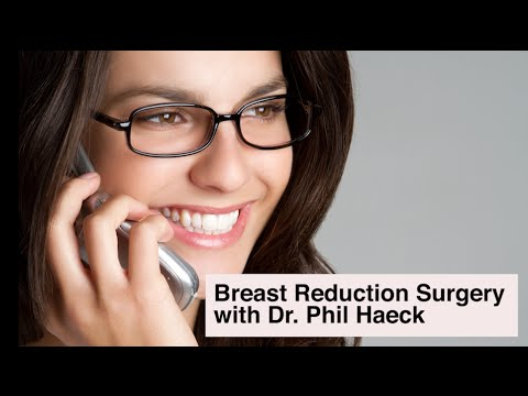 Breast Reduction Surgery - Your Insurance May Cover This Procedure