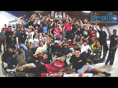 200 SKATERS?! CRAZY BRAILLEHOUSE SESSION!!!