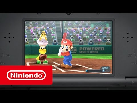 Mario Sports Superstars – Homeruntrailer (Nintendo 3DS)