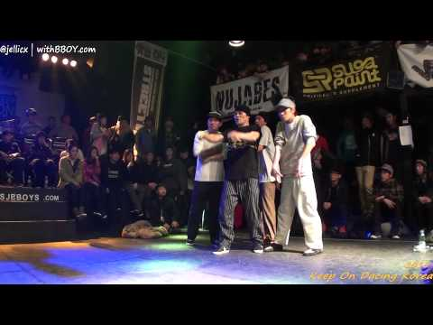 POPPING BEST4-2 | Atomic8(win) vs  | KOD KOREA 2013