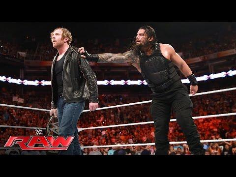 Roman Reigns vs. Seth Rollins: Raw, June 20, 2016