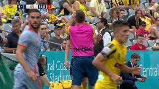 Hyundai ALeague 201920 Round 16 Central Coast Mariners v Brisbane Roar FC Full Game