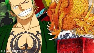 """Roronoa Zoro's ROYAL Past - """"His Father Oden & Conquerors Haki"""" (One Piece)"""