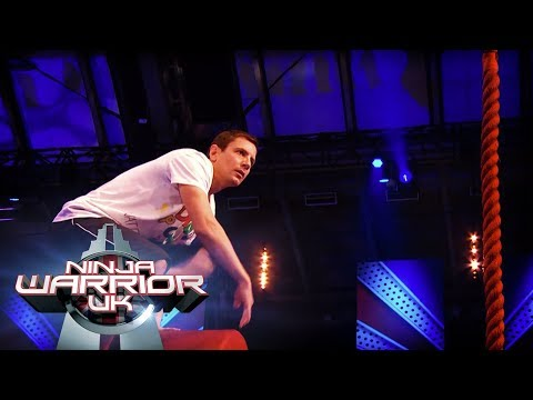 EXTRA: Rob Hamilton's full run | Ninja Warrior UK