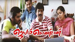 Jayam Kondaan | Jayam Kondan full movie scenes | Vinay comes to India | Vinay meets Lekha Washington