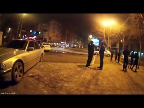 Черноморск ДТП с полицейским автомобилем