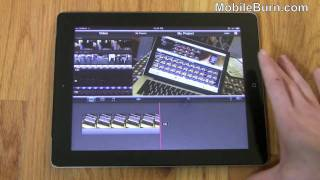 Apple iMovie for iPad 2 video demo