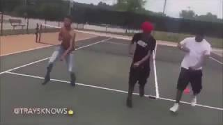 black people dancing to anime