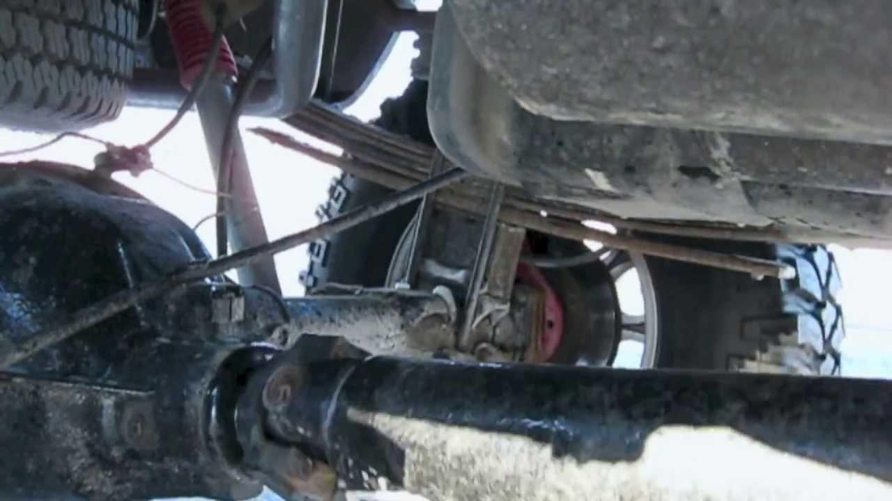 1998 chevy k1500 1 2 ton 4x4 axle wrap youtube
