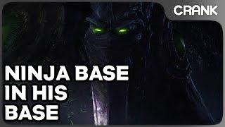Ninja Base in His Base - Crank's Variety StarCraft 2