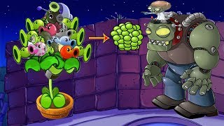 Plants vs Zombies Hack -  All Pea vs Dr. Zomboss Fightsire