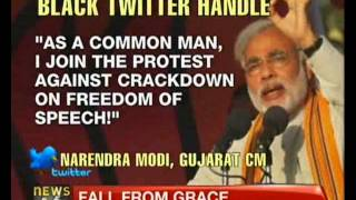 Modi leads protest against govt's crackdown on Twitter - NewsX