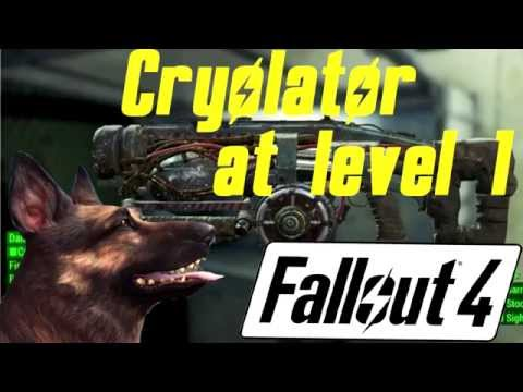 Fallout 4: Cryolator at level 1! Early loot!