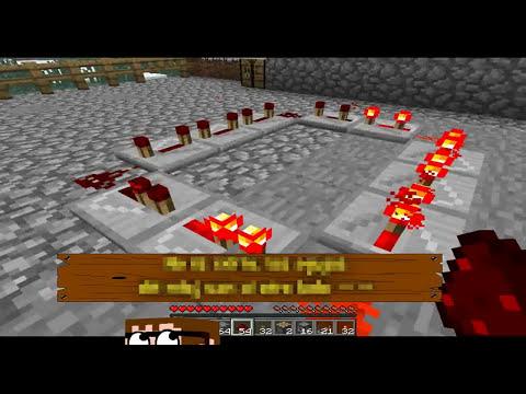 Tutorial Minecraft 18 mecanismos base de redstone Gary_Uehara