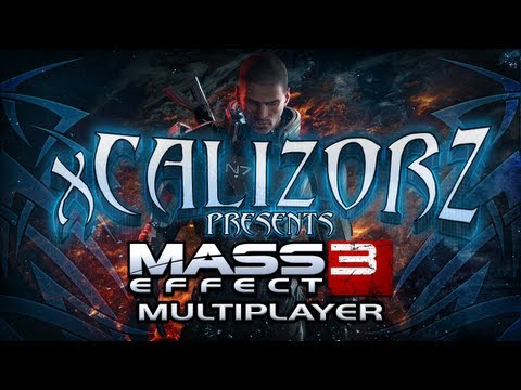 Asari Valkyrie/Glacier Hazard First Look - Mass Effect 3 Multiplayer