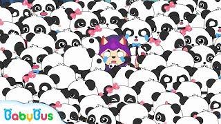 100 Baby Pandas in Devil King's Castle | Math Kingdom Adventure | Math Cartoon for Kids | BabyBus
