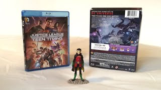 Justice League vs Teen Titans: Limited Edition (2016) Blu Ray Unboxing and Review