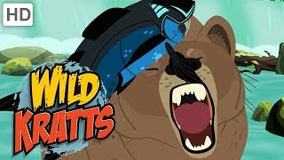Wild Kratts - Explore Alaska: Fishing with Bears and Eagles 🐟🦅🐻 | Kids Videos
