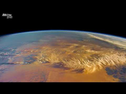 Planet Earth Seen From Space: Crossing Africa - Spain to Madagascar Time Lapse Video From The ISS