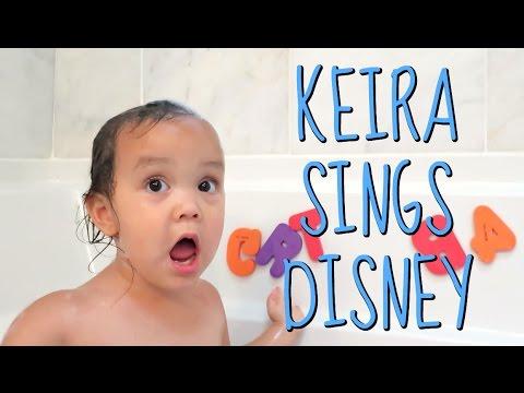 Toddler Sings Disney Princess! - June 18, 2016 -  ItsJudysLife Vlogs
