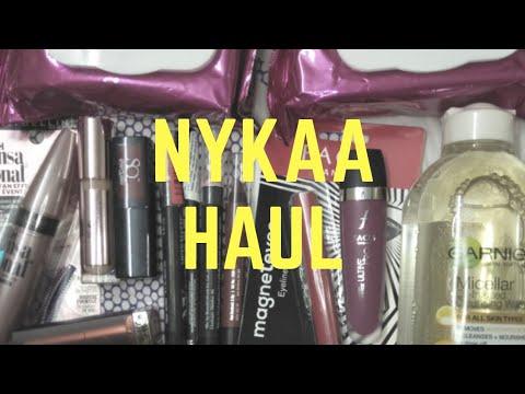 Huge Nykaa haul 2018