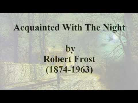 robert frost reluctance analysis