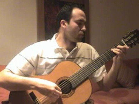 Classical Guitar Bach - Prelude