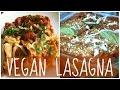 Cheesy Veggie Lasagna || Easy VEGAN Recipe w/ Sarah's Vegan Kitchen