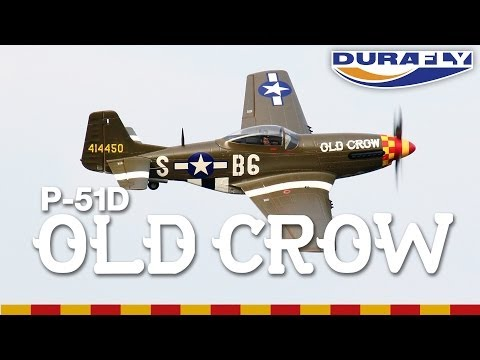 HobbyKing Product Video - Durafly P-51D Old Crow 1100mm PNF