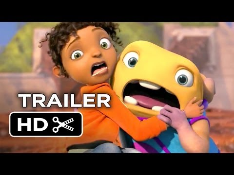 Home Official Trailer #1 (2015) - Jennifer Lopez. Rihanna Animated Movie HD