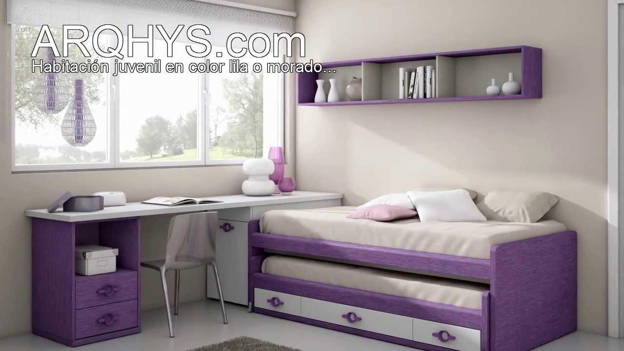 C mo decorar con el color lila o morado youtube for Que color asociar con el gris claro