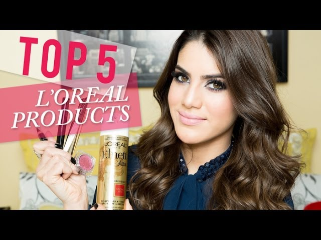 Top 5 L'Oreal Products