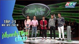 HTV NHANH NHƯ CHỚP | Gay cấn tìm ra đội đầu tiên giành giải Đặc biệt | NNC#23 FULL | 8/9/2018