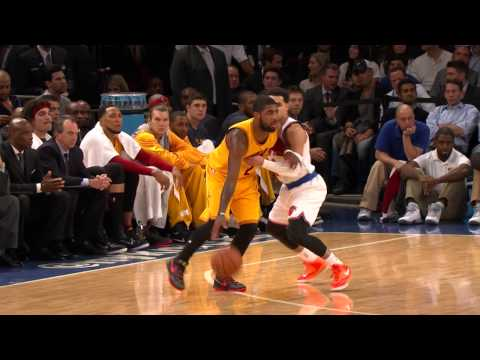 Kyrie Irving Scores Season-High 37 to Lead the Cavs Past Knicks