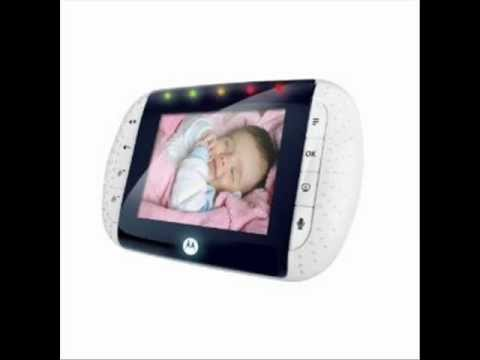 motorola digital video baby monitor with color lcd screen youtube. Black Bedroom Furniture Sets. Home Design Ideas