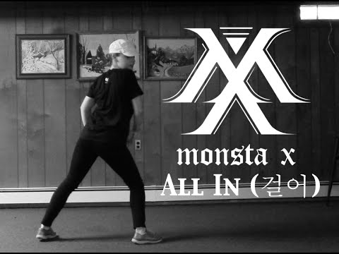 MONSTA X (몬스타엑스) 걸어(All in) 1theK Dance Cover Contest Solo