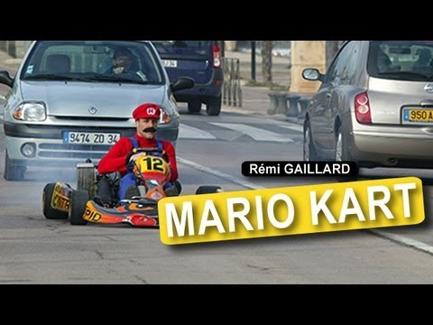 Real Life Mario Kart - The Super Mario Bros - Flixster Video
