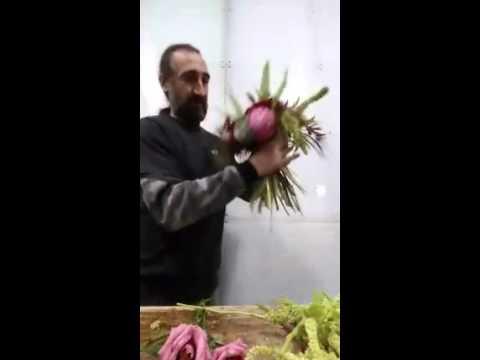 8 марта. Греческий флорист дает мастер-класс.