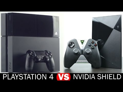 Nvidia Shield vs Playstation 4 -  Full in-Depth Comparison