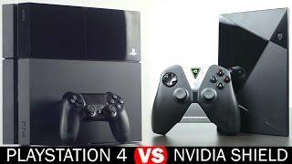 Nvidia Shield vs Playstation 4 -  Full in-Depth Comparison
