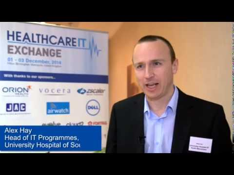 Alex Hay, Head of IT Programmes, IM&T, University Hospital of South Manchester: Meetings
