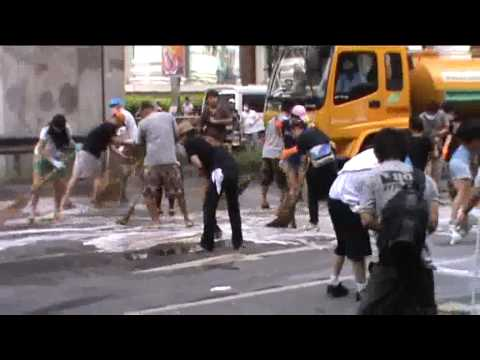cleaning ratchaprasong.flv