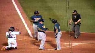New Orleans' Hood hits second homer