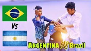 চরম সাপোর্টার Argentina Vs Brazil || Bangla New Funny Video 2018 || Comedy Vines Bd