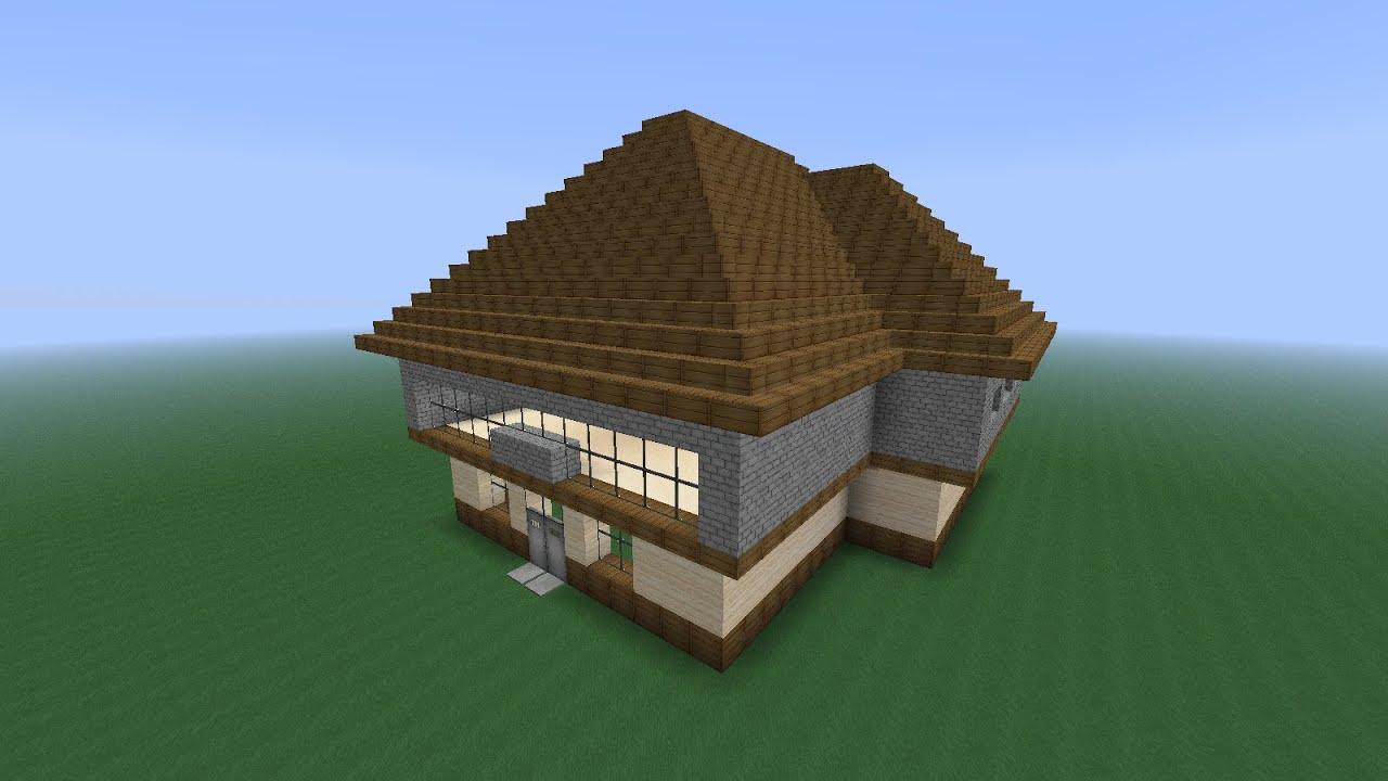 Как сделать самый красивый дом в minecraft