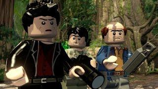 LEGO Jurassic World Walkthrough Part 6: Isla Sorna (The Lost World)