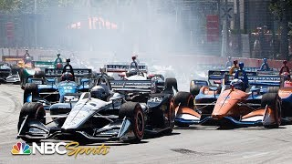 IndyCar Toronto 2019 | EXTENDED HIGHLIGHTS | 7/14/19 | NBC Sports